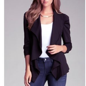 Bebe Waterfall Blazer